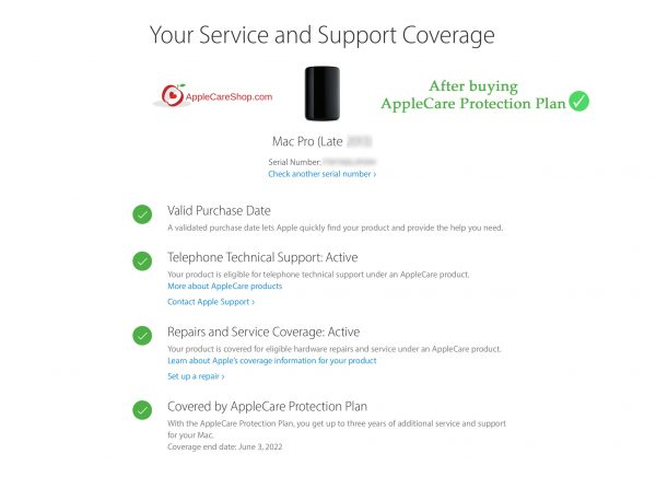 AppleCare for Mac Pro.
